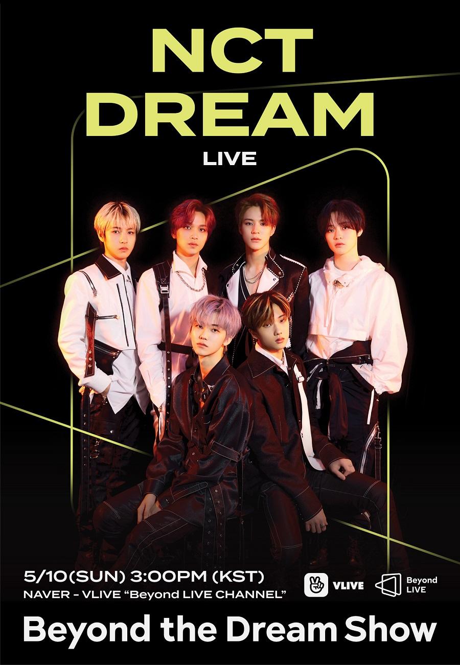 [Poster Image] ภาพโปสเตอร์ 'Beyond LIVE' ของ NCT DREAM (เอ็นซีที ดรีม)