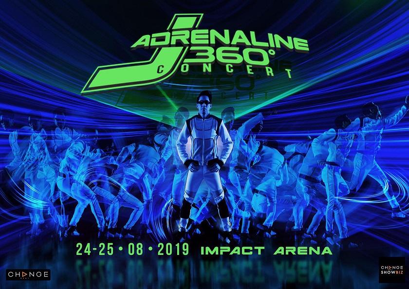 Poster J Adrenaline 360 Concert
