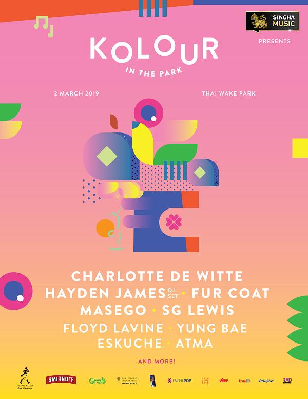 Poster Kolour In The Park 2019
