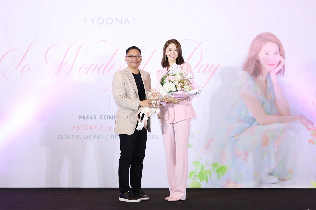 [Press Conference] YOONA & COO of SM True