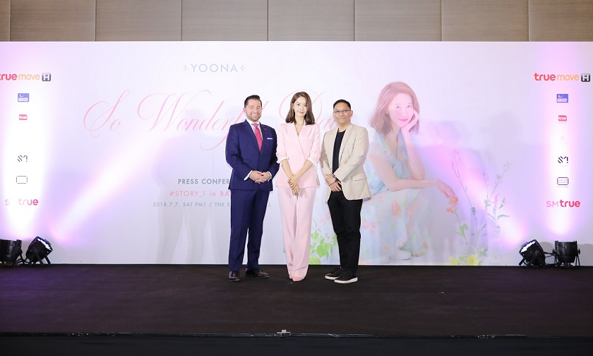 [Press Conference] YOONA with COO of SM True & Hotel Manager of The St. Regis Bangkok