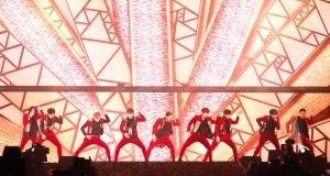 SM True (เอสเอ็ม ทรู) ประเดิมคอนเสิร์ตใหญ่รับต้นปี TrueMove H presents SUPER JUNIOR WORLD TOUR 'SUPER SHOW 6' in BANGKOK ตรึงสายตาคนดูกว่า 20,000 คน ตลอดการแสดงเต็มอิ่มกว่า 4 ชั่วโมง
