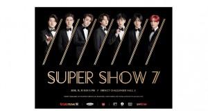 "SM True ภูมิใจนำเสนอการกลับมาของ 'SUPER JUNIOR' พร้อมอัพเกรดความสุดยอดยิ่งกว่าเดิม  ในคอนเสิร์ตอังกอร์ครั้งแรกในประเทศไทยของ 'SUPER JUNIOR WORLD TOUR ""SUPER SHOW 7"" in BANGKOK'"