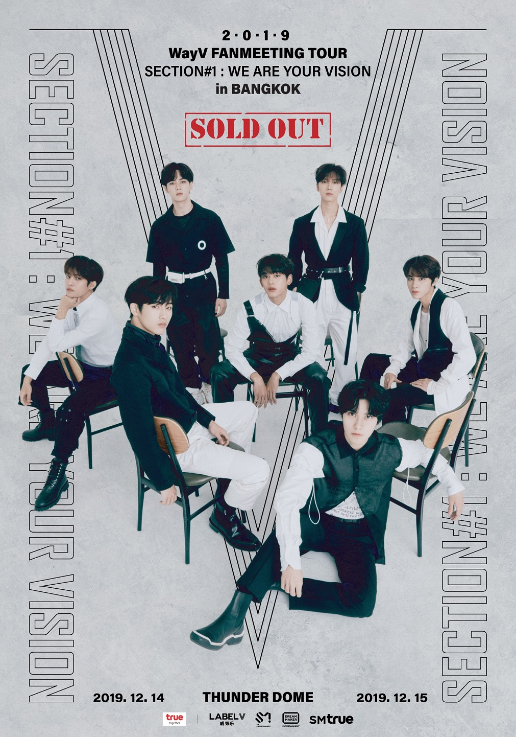 [Sold Out Poster_2] 2019 WayV FANMEETING TOUR 'Section#1_We Are Your Vision' - in BANGKOK