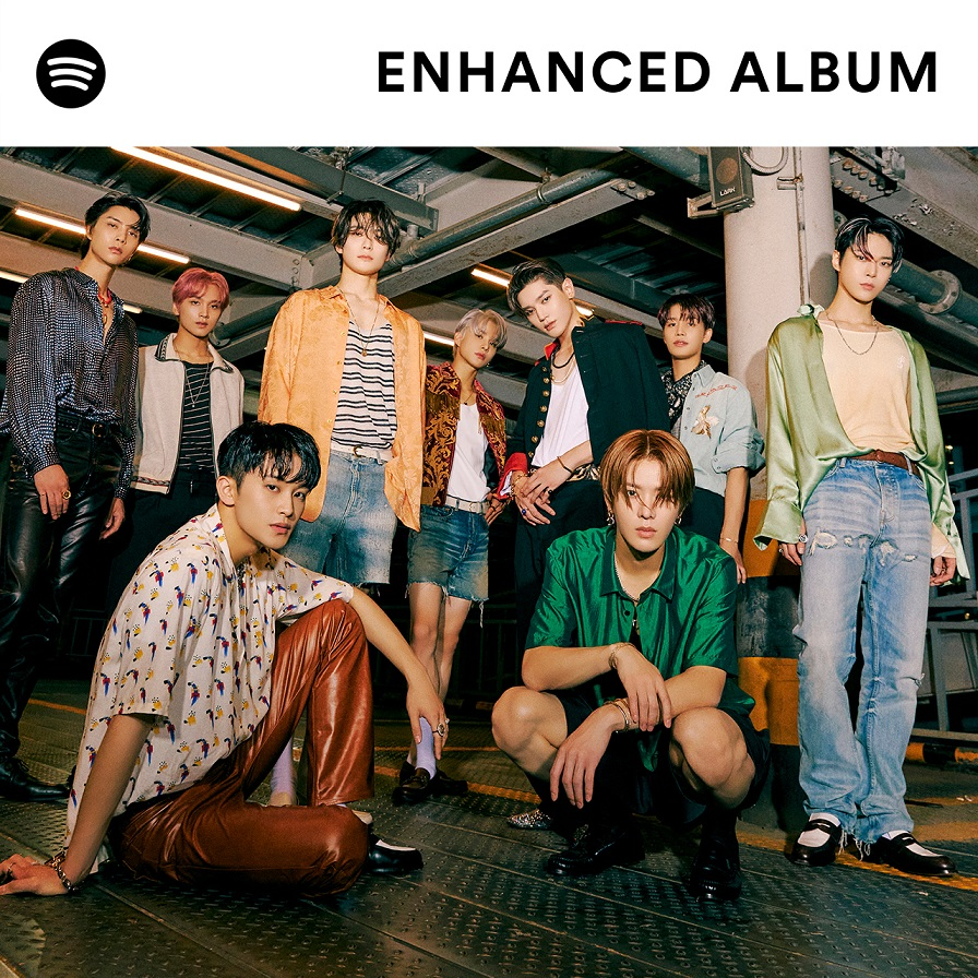 Spotify Hero Image - Welcome to NCT 127 Sticker The Enhanced Album
