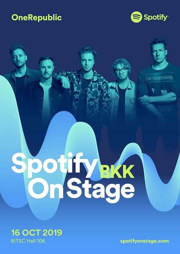 Spotify On Stage 2019_BKK_OneRepublic