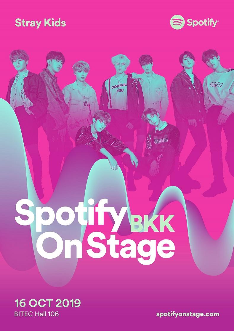 Spotify On Stage 2019_BKK_Stray Kids
