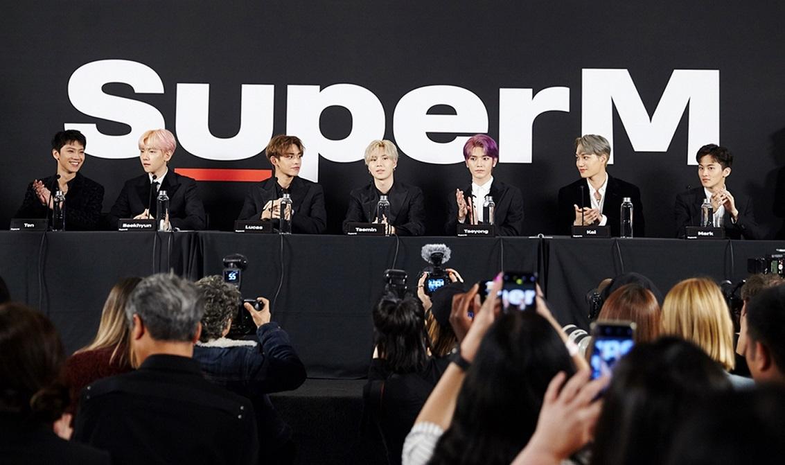 [SuperM_Image 1] 'SuperM Premiere Event'