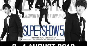 "SUPER JUNIOR เรียกรวมพล ELF THAI แสดงตัวด่วนที่คอนเสิร์ต  ""SUPER JUNIOR WORLD TOUR 'SUPER SHOW 5′ IN BANGKOK"" วันที่ 3-4 ส.คนี้"