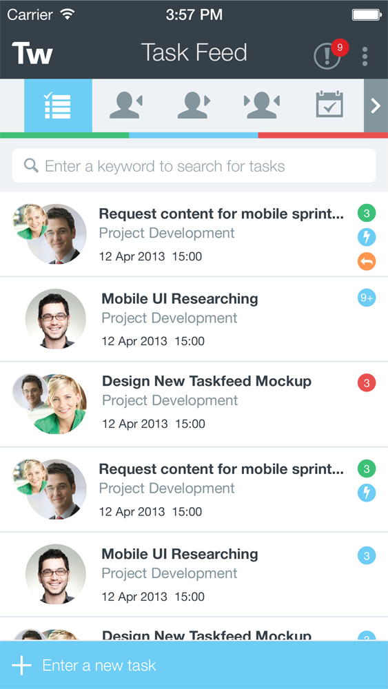 Taskworld-mobile-ios-03-task feed