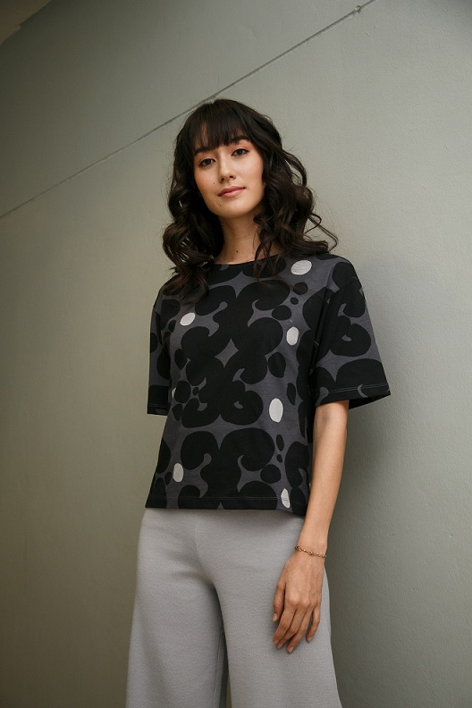 UNIQLOxMarimekko Short Sleeve T-Shirt Keidas Pattern