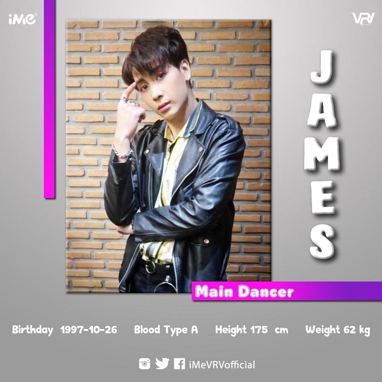 VRV JAMES---profile