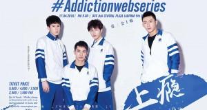 4 นักแสดงนำจากซีรี่ส์สุดฮอต Addictionwebseries เตรียมเยือนไทยจัดมีทติ้งครั้งแรก 17 เมย.นี้
