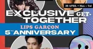 FINALLY! กลับมาแล้ว กับกิจกรรม LIPS GARÇON 5th Anniversary : Exclusive Get Together at #SiamCenter 3 คู่จิ้น 3 ร้านดัง ที่สยามเซ็นเตอร์ #MaxTul #KimCop #OhmFluke