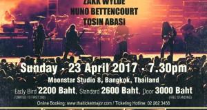 IMC Live GROUP เตรียมระเบิดความมันส์ กับ 5 พลังขุนขวาน !!! GENERATION AXE A Night of Guitars Asia Tour  2017 Live Concert in Bangkok   23 เม.ย. มูนสตาร์ สตูดิโอ 8