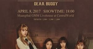 """ปัง! ปัง! ปัง! หกสาวเกิร์ลกรุ๊ป จีเฟรนด์ เตรียมยิงเสน่ห์ใส่หัวใจบัดดี้ไทยใน """" GFRIEND Fan Meeting in Bangkok 2017  dear Buddy """"  8 เมษายนนี้ ลั่นไกแน่นอน !!"""