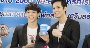 บาส – คิมม่อน ตัวแทนวัยรุ่น ชวนทุกคนหันมาใส่ใจดื่มนม เสริมสร้างสุขภาพดี